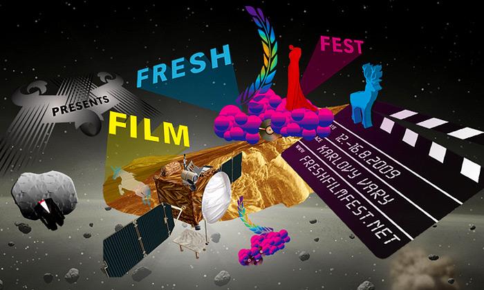 Fresh Film Fest 6 dostal vesmírné grafické pojetí