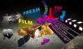 Vesmírný grafický vizuál pro Fresh Film Fest 6