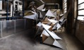 Prostorvá socha Dark Biwak v Berlíně od TSA Works