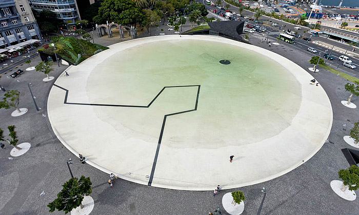 Tenerife má nové náměstí odHerzog & de Meuron
