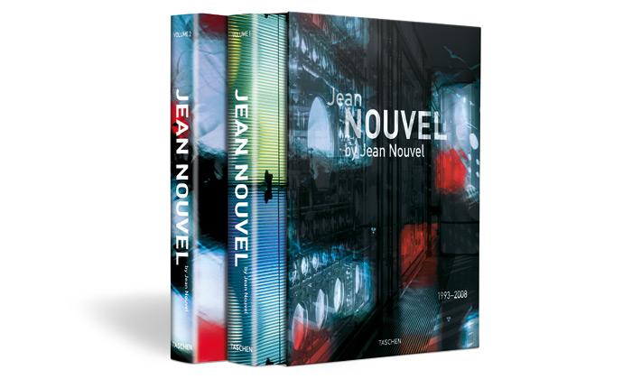 Jean Nouvel si designoval svou vlastní monografii