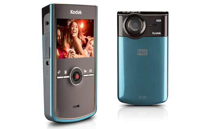 Kapesní videokamera Kodak Zi8 překvapí velikostí