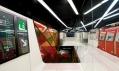 Nově zrekonstruovaná barcelonská stanice metra Drassanes od ON-A