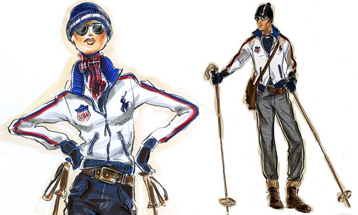 Polo Ralph Lauren navrhne outfit olympionikům USA