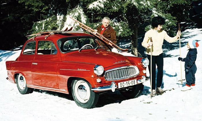 Legendární vůz Škoda Octavia slaví padesát let