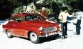 Model vozu Škoda Octavia zroku 1959