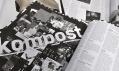 Černobílý časopis Živel číslo 29 s pozadím ze starších čísel