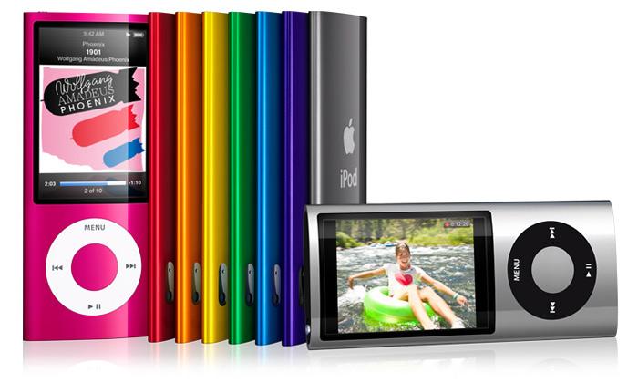Apple představil čtyři inovované přehrávače iPod