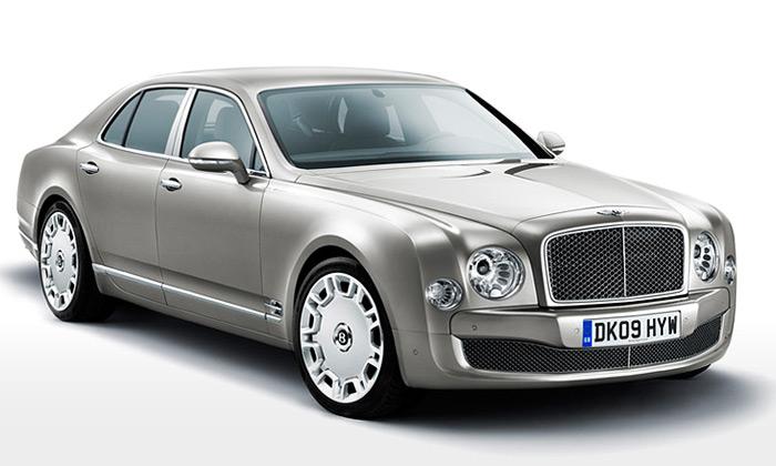 Bentley Mulsanne jelimuzína pro nejnáročnější