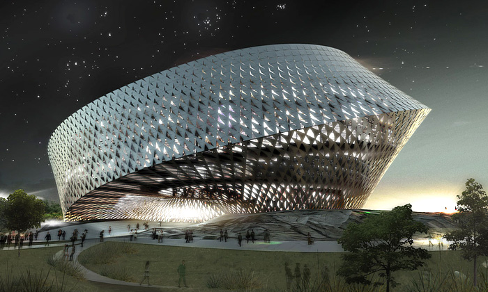 BIG postaví nekonečnou knihovnu vKazachstánu
