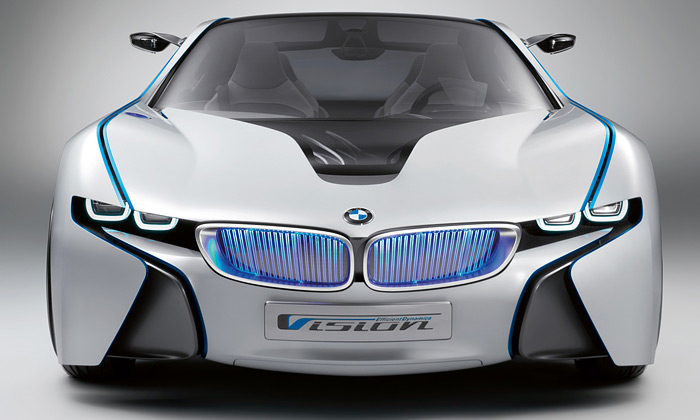 BMW Vision EfficientDynamics je sporťák budoucna