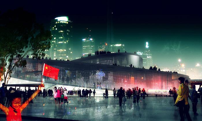 Dánsko staví naExpo 2010 točitý pavilon odBIG