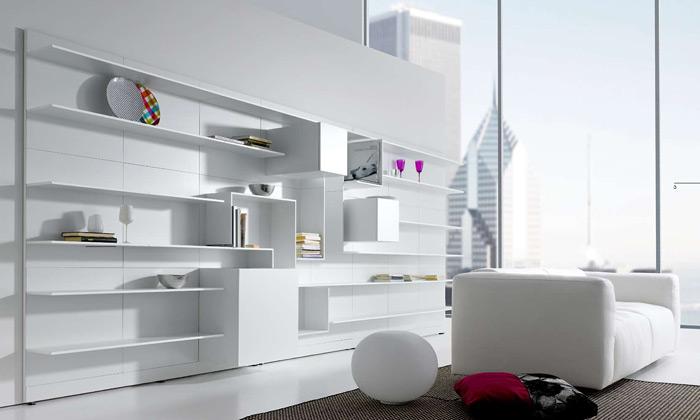 Konsepti uvede naDesignbloku systém nábytku Vita