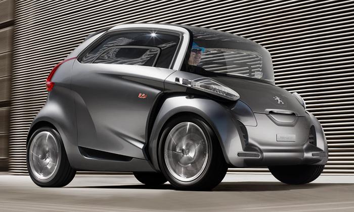 Peugeot představil malé čtyřmístné vozítko BB1