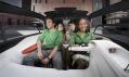 Koncept čtyřmístného vozu BB1 od automobilky Peugeot