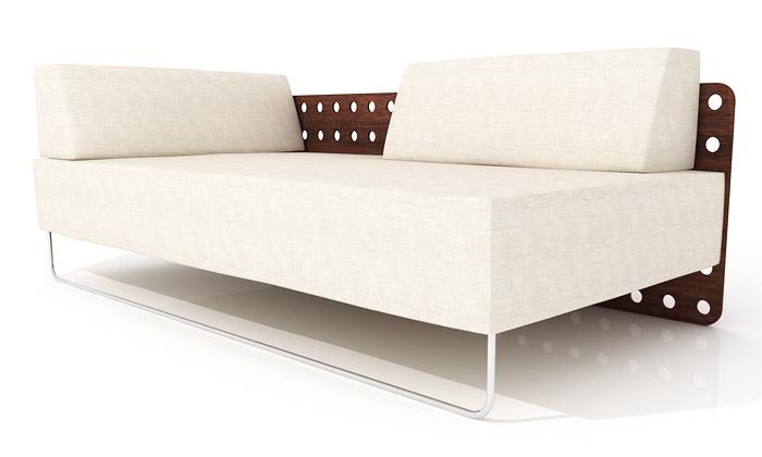 Polstrin si naDesignblok připravil nový gaučík Momo