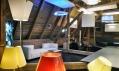 Nový showroom Artemide vHolešovicích nad showroomem Konsepti