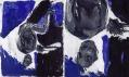 Georg Baselitz v Galerii Rudolfinum: Elke 4 (celek a detail)