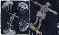 Georg Baselitz v Galerii Rudolfinum: Básník (celek a detail)