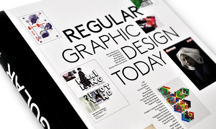 Nápaditý grafický design dneška vknize Regular