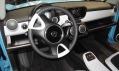 Interiér vozu Trabant nT