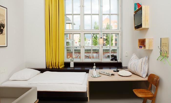 Werner Aisslinger navrhl Berlínu Michelberger Hotel
