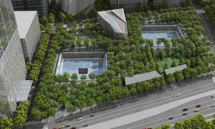 Muzeum apamátník 11.září odhalily finální podobu
