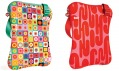 Tašky a pouzdra značky Built se vzory, které navrhl Alexander Girard