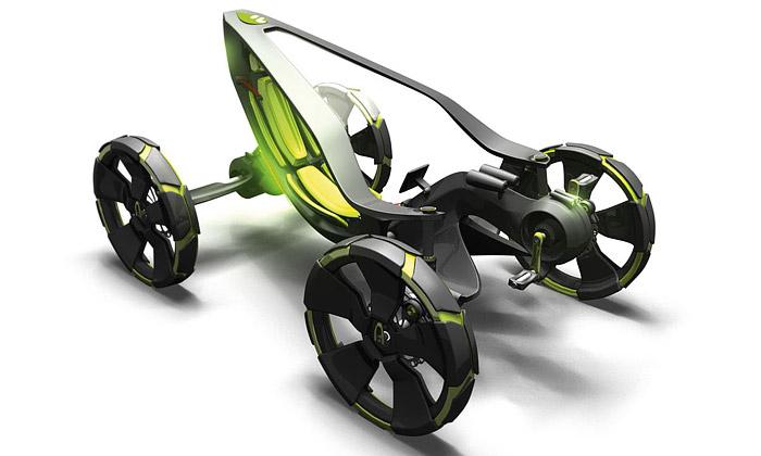 Sandman vyhrál soutěž aut budoucnosti Allivision 09