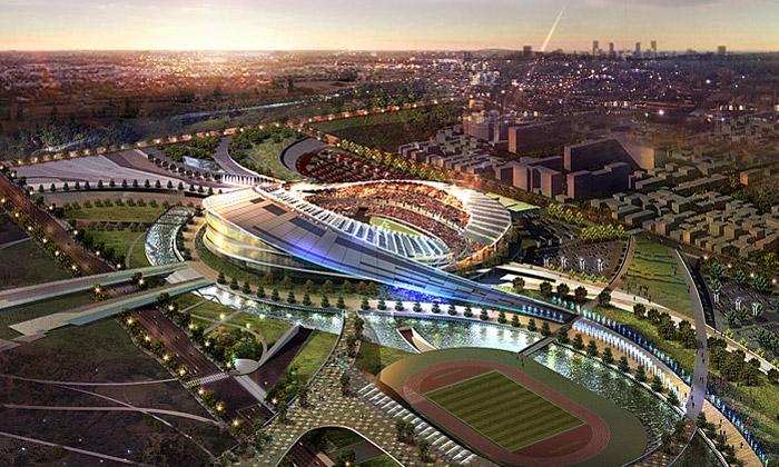Nový stadion pro Asijské hry 2014 postaví Populous