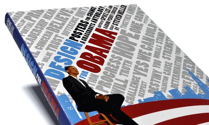 Slavné plakáty sObamou vknize Design for Obama