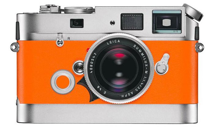 Leica vydává luxusní retro foťák M7 vedici Hermès