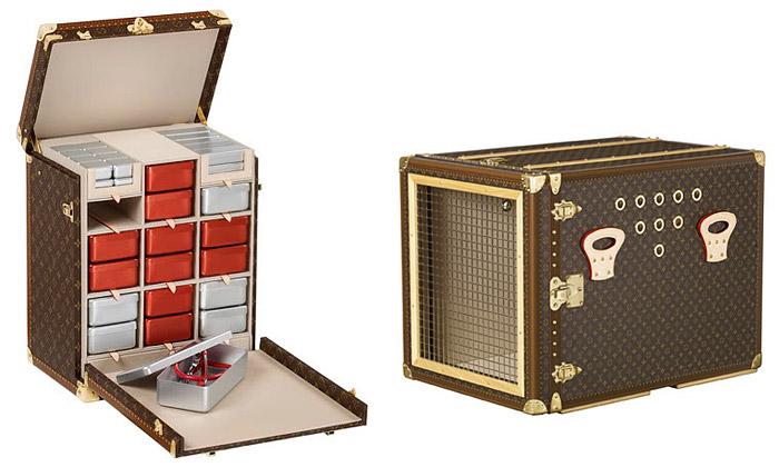 Louis Vuitton podporuje charitu zavazadly umělců