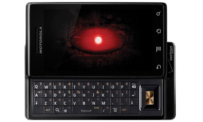 Mobilní hvězda USA Motorola Droid jevprodeji