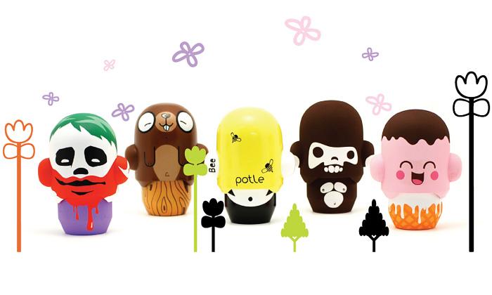 Potle jsou první postavičky urban toys ze Slovenska