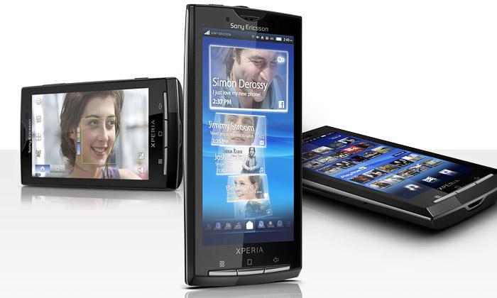 Sony Ericsson uvádí elegantní fotomobil Xperia X10
