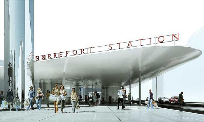 Kodaňskou stanici metra Nørreport přestaví Cobe