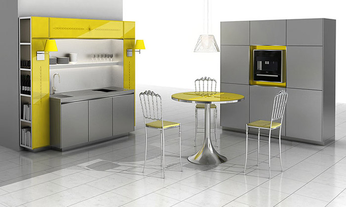 Philippe Starck navrhl kuchyně pro Warendorf