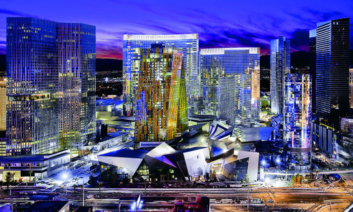 Las Vegas má CityCenter skrystaly odLibeskinda