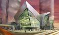 Budova Crystals jakou součást CityCenter