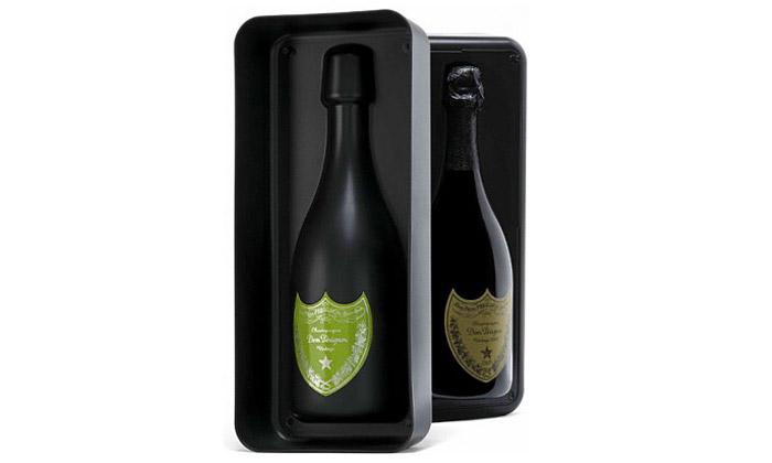 Marc Newson navrhl box našampus Dom Pérignon