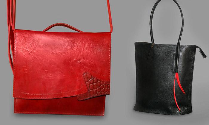 Ručně šité kabelky odKateřiny Pittlové krásně voní