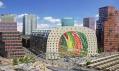 Tržnice a bytový komplex Market Hall v Rotterdamu od MVRDV