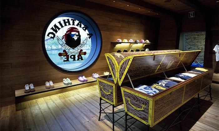 BAPE otevřelo další obchod spirátským interiérem