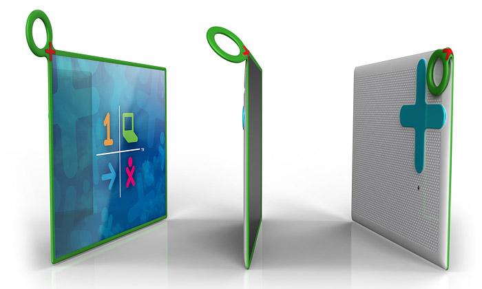 Notebook OLPC XO-3 jepro děti zrozvojových zemí