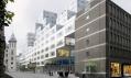 Vítězný návrh radnice Stadskantoor pro Rotterdam odOMA