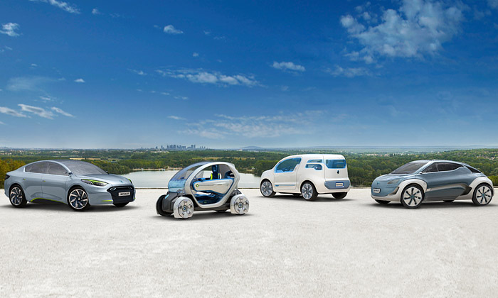 Futuristické vozy Renault Z.E. zamíří idovýroby