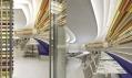 Restaurace The Wright na vizualizaci architektů před realizací