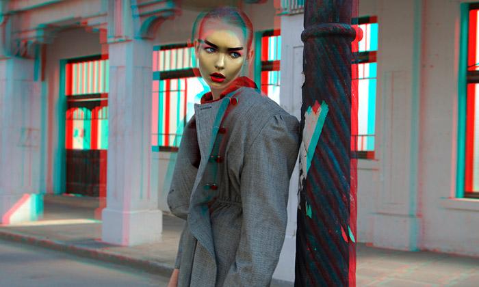 Baldovino Barani nafotil módu 3D pro Archetype X