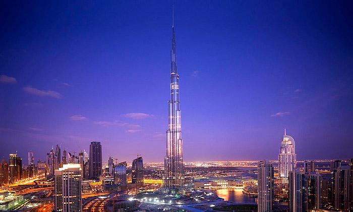 Dubaj otevřela nejvyšší budovu světa Burj Dubai